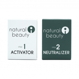 Single dose activator and neutralizer for Step 1 and Step 2 eyelash lift