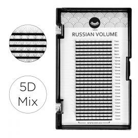 Pestañas Volumen Ruso 5D Mix