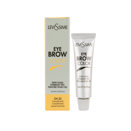 LEVISSIME EYEBROW COLOR CH-33 CHAMPAGNE 15ml